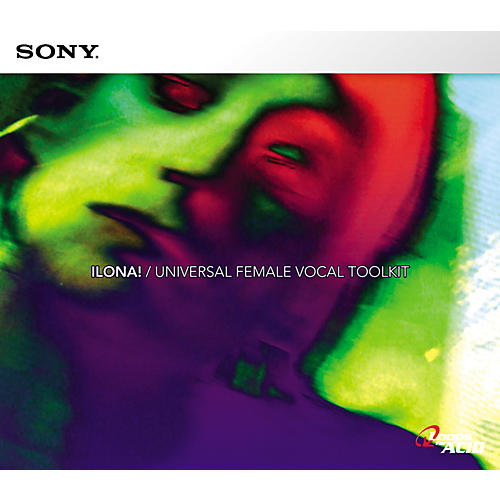 Sony ILONA!: Universal Female Vocal Toolkit for ACID-thumbnail