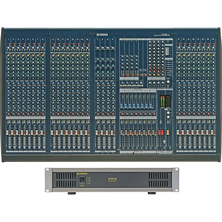 Yamaha IM8-24 Mixing Console with Power Supply