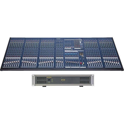 Yamaha IM8-40 Mixing Console Restock with Power Supply-thumbnail