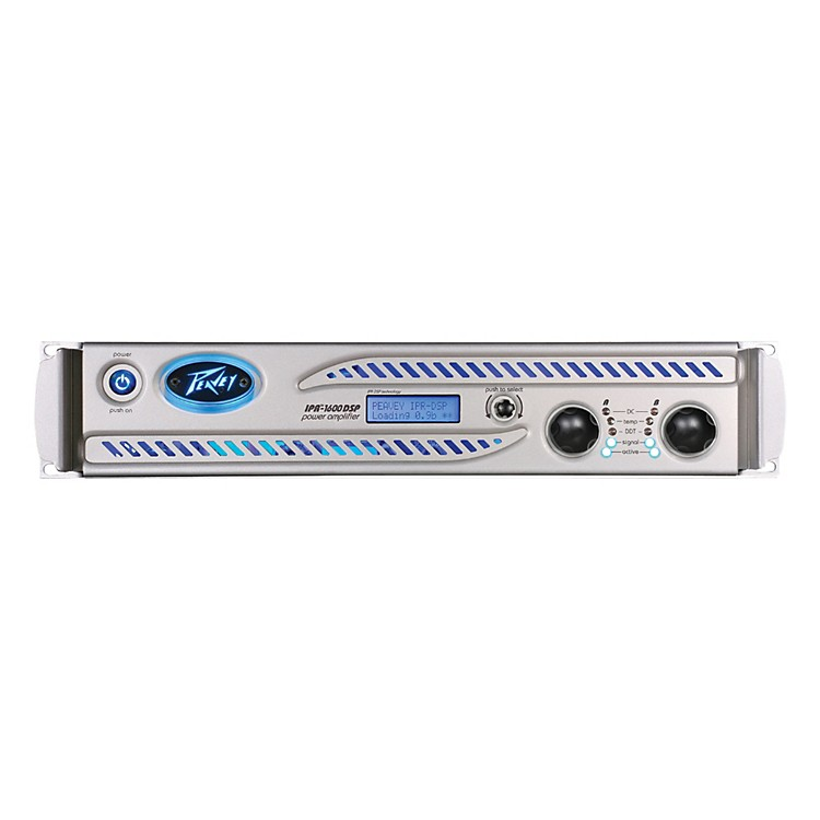 Peavey IPR DSP 1600 Power Amp with DSP