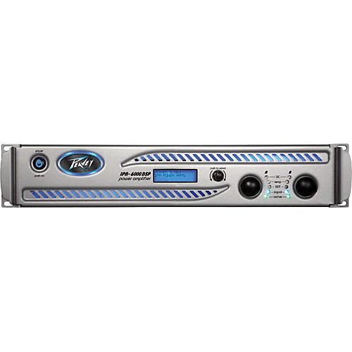 Peavey IPR DSP 6000 Power Amp with DSP