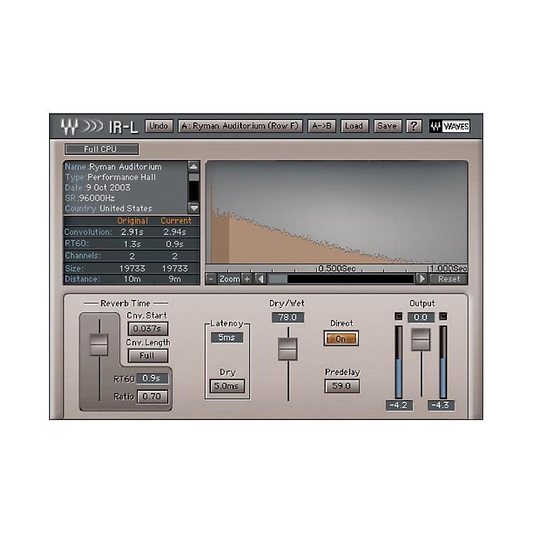 WavesIR-L Native LicenseSoftware  Download