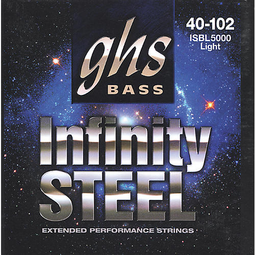 GHS ISBL5000 Infinity Steel Red Coated Bass Strings-thumbnail