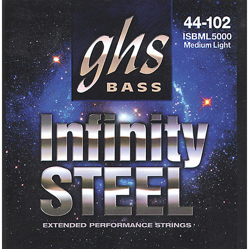 GHS ISBML5000 Infinity Steel Red Coated Bass Strings-thumbnail