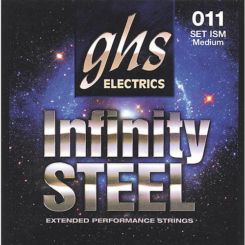 GHS ISM Infinity Steel Black Coated Guitar Strings