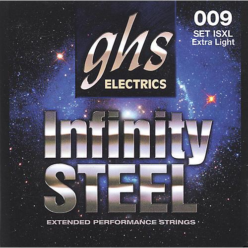 GHS ISXL Infinity Steel Black Coated Guitar Strings-thumbnail