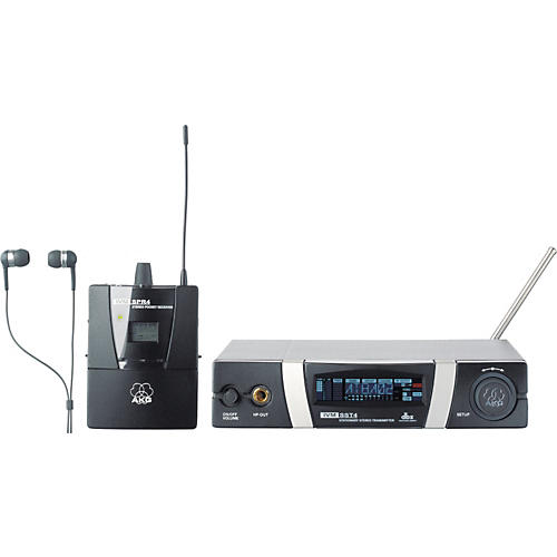 akg ivm 4 set wireless in ear personal monitor system musician 39 s friend. Black Bedroom Furniture Sets. Home Design Ideas