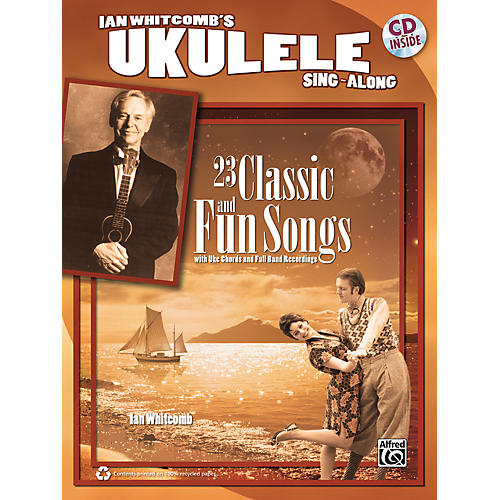 Alfred Ian Whitcomb's Ukulele Sing-Along Book/CD