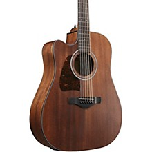 Ibanez Ibanez AW54LCEOPN Solid Top Lefty Electric Acoustic Dreadnought Guitar