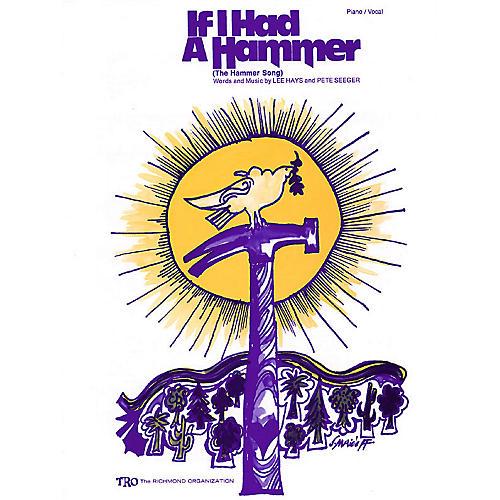TRO ESSEX Music Group If I Had a Hammer Richmond Music ¯ Sheet Music Series-thumbnail