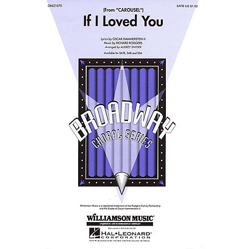 Hal Leonard If I Loved You (from Carousel) SSA Arranged by Audrey Snyder-thumbnail