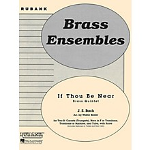 Rubank Publications If Thou Be Near (Bist du bei mir) (Brass Quintet - Grade 3) Rubank Solo/Ensemble Sheet Series