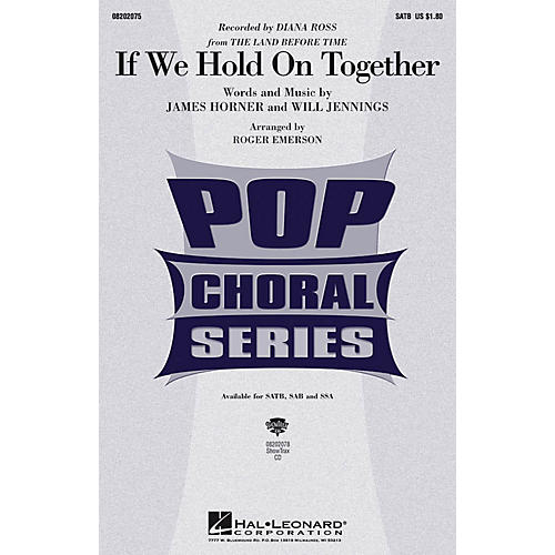 Hal Leonard If We Hold On Together ShowTrax CD by Diana Ross Arranged by Roger Emerson-thumbnail