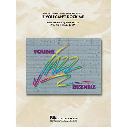 Hal Leonard If You Can't Rock Me Jazz Band Level 3 Arranged by Paul Murtha