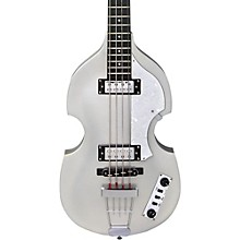 Hofner Ignition LTD Violin Electric Bass Guitar Silver Sparkle