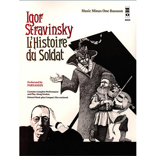 Music Minus One Igor Stravinsky - L'histoire du Soldat Music Minus One Series Softcover with CD by Igor Stravinsky-thumbnail