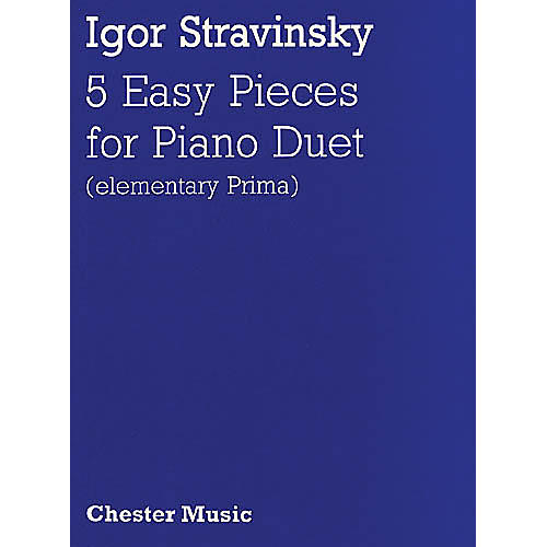 Music Sales Igor Stravinsky: Five Easy Pieces Music Sales America Series-thumbnail