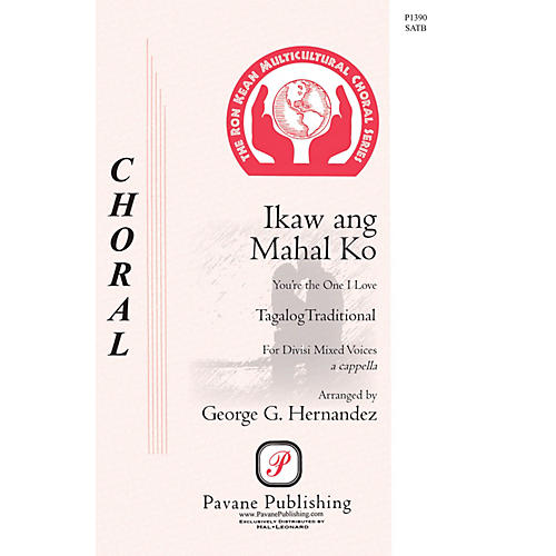 Pavane Ikaw Ang Mahal Ko (You're the One that I Love) SATB a cappella arranged by George Hernandez-thumbnail