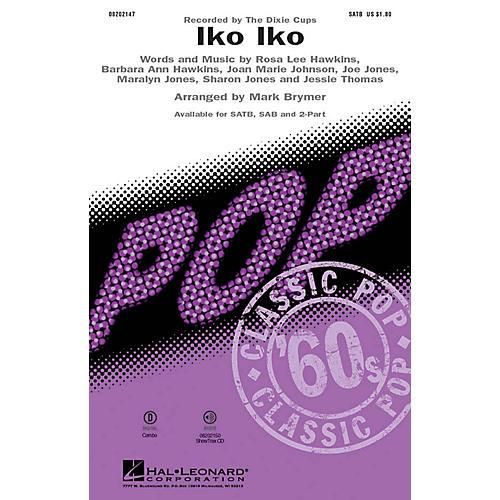 Hal Leonard Iko Iko SAB by Dixie Cups Arranged by Mark Brymer-thumbnail