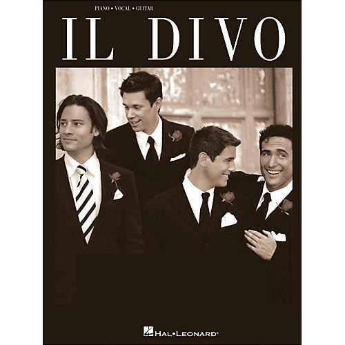 Hal Leonard Il Divo arranged for piano, vocal, and guitar (P/V/G)-thumbnail