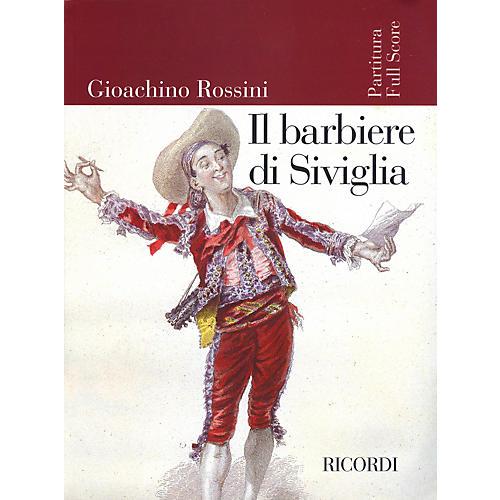 Ricordi Il barbiere di Siviglia (Score) Study Score Series Composed by Gioachino Rossini Edited by Alberto Zedda-thumbnail