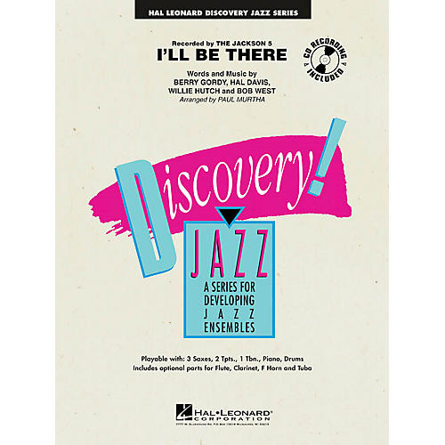 Hal Leonard I'll Be There Jazz Band Level 1 by The Jackson 5 Arranged by Paul Murtha-thumbnail