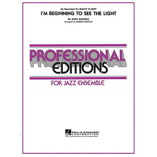 Hal Leonard I'm Beginning to See the Light Jazz Band Level 5 Arranged by Sammy Nestico-thumbnail