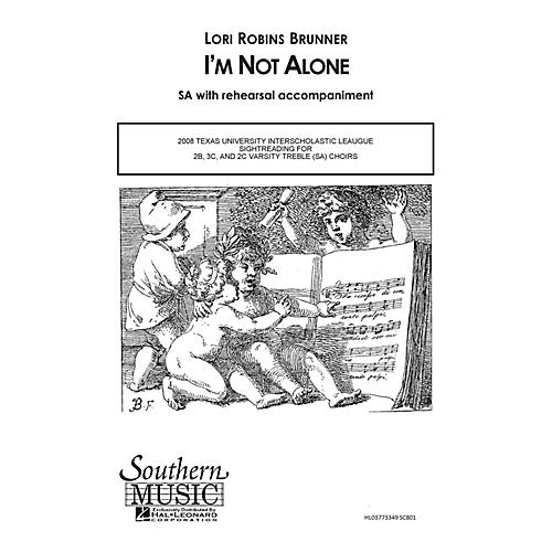 Southern I'm Not Alone SA Composed by Lori Robins Brunner-thumbnail