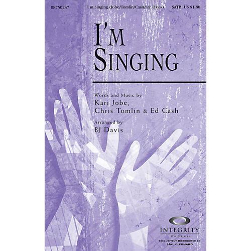 Integrity Choral I'm Singing SATB Arranged by BJ Davis-thumbnail