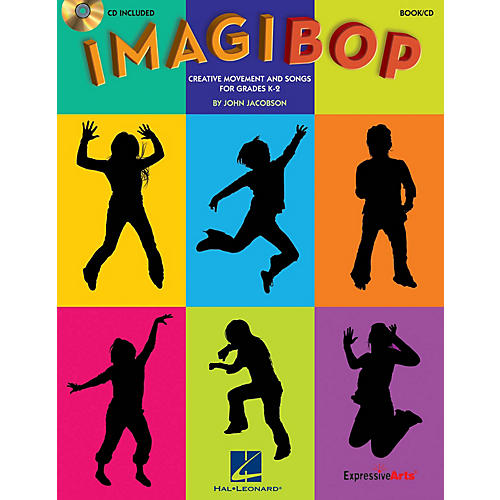 Hal Leonard ImagiBOP (Creative Movement and Songs for Grades K-2) Book and CD pak Composed by John Jacobson-thumbnail