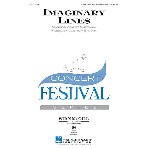 Hal Leonard Imaginary Lines (Stan McGill Choral Series) SATB composed by Joshua Shank