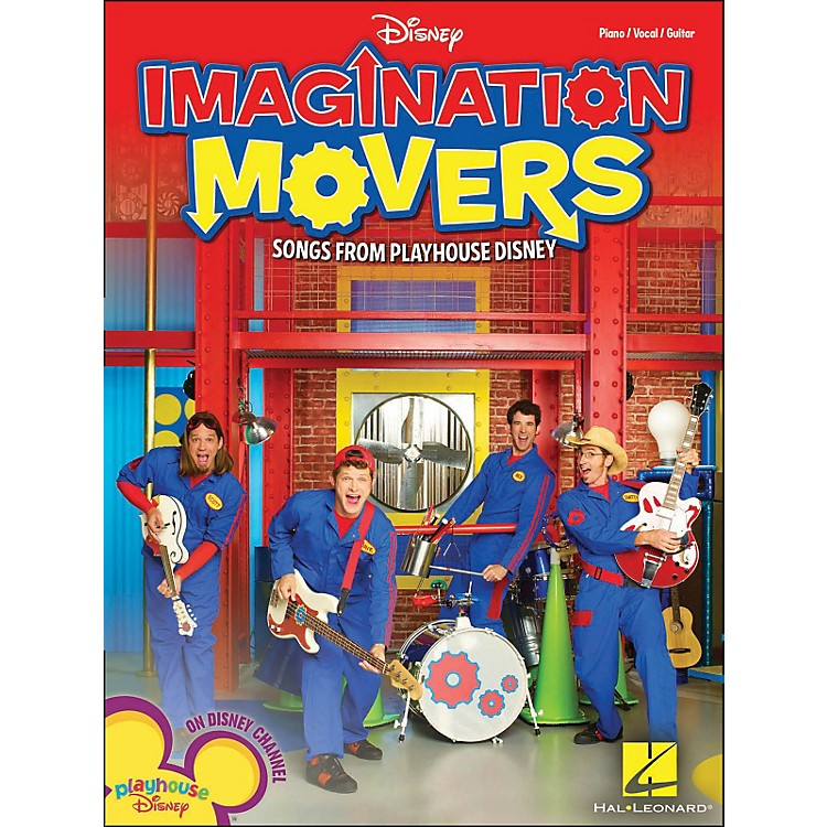 Hal LeonardImagination Movers - Songs From Playhouse Disney arranged for piano, vocal, and guitar (P/V/G)