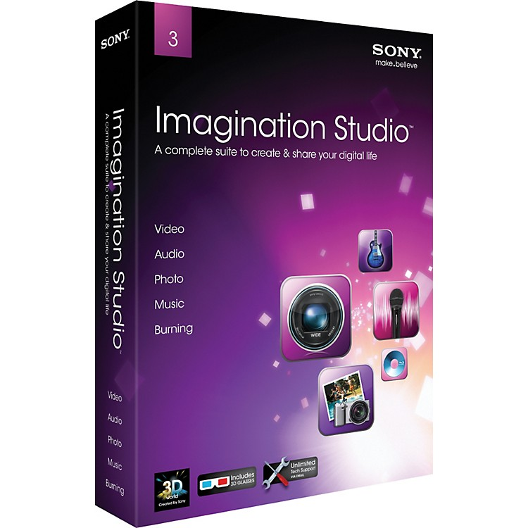 Sony Imagination Studio 3.0