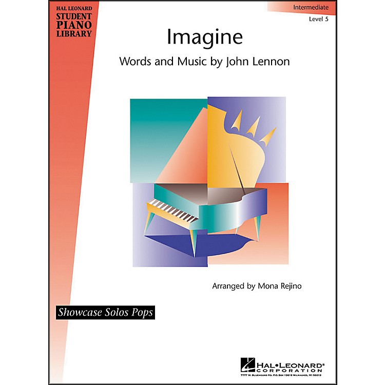 Hal LeonardImagine Intermediate Level 5 Showcase Solos Pops Hal Leonard Student Piano Library
