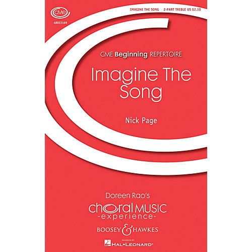 Boosey and Hawkes Imagine the Song SA composed by Nick Page
