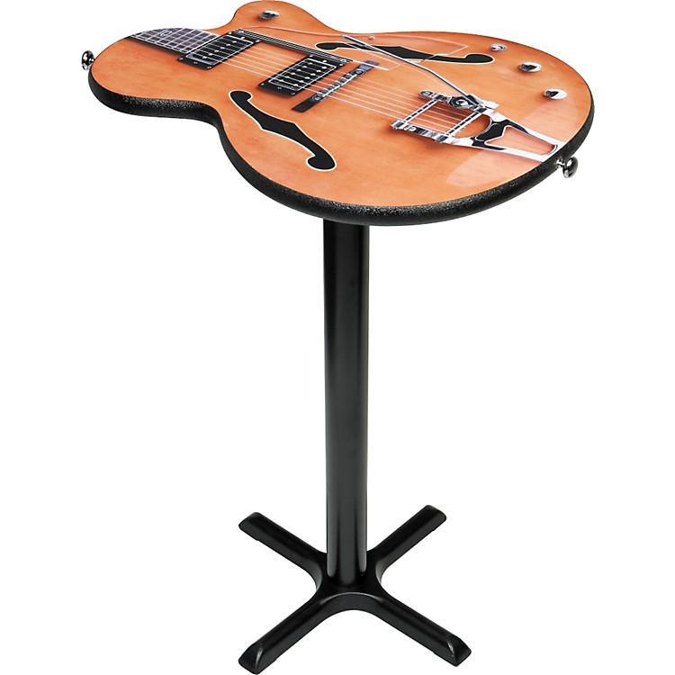 gear one imperial guitar cocktail table w 40 base musician 39 s friend. Black Bedroom Furniture Sets. Home Design Ideas