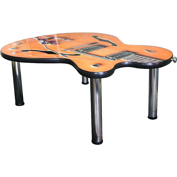 designer creation imperial guitar coffee table musician 39 s friend. Black Bedroom Furniture Sets. Home Design Ideas