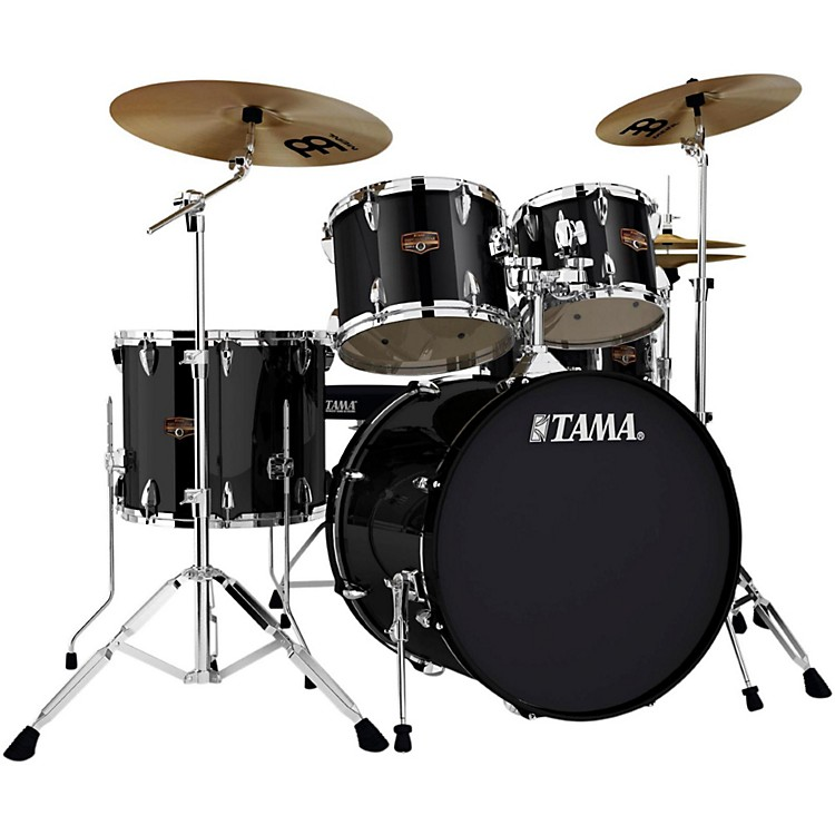 Tama Imperialstar 5-Piece Drum Kit with Cymbals Black