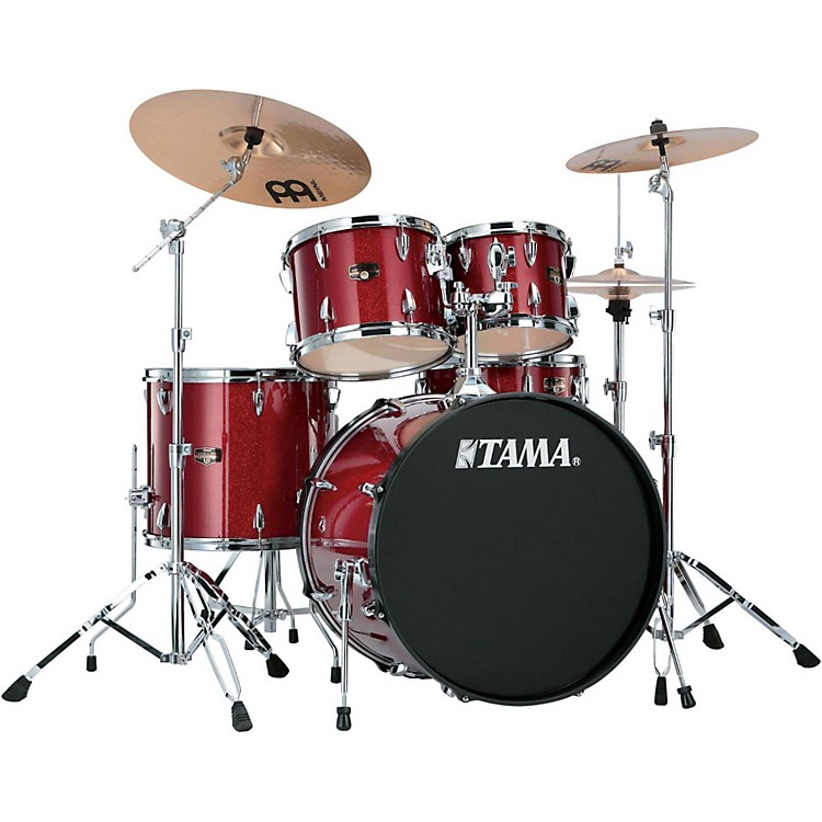 TamaImperialstar 5-Piece Drum Kit with CymbalsCandy Apple Mist