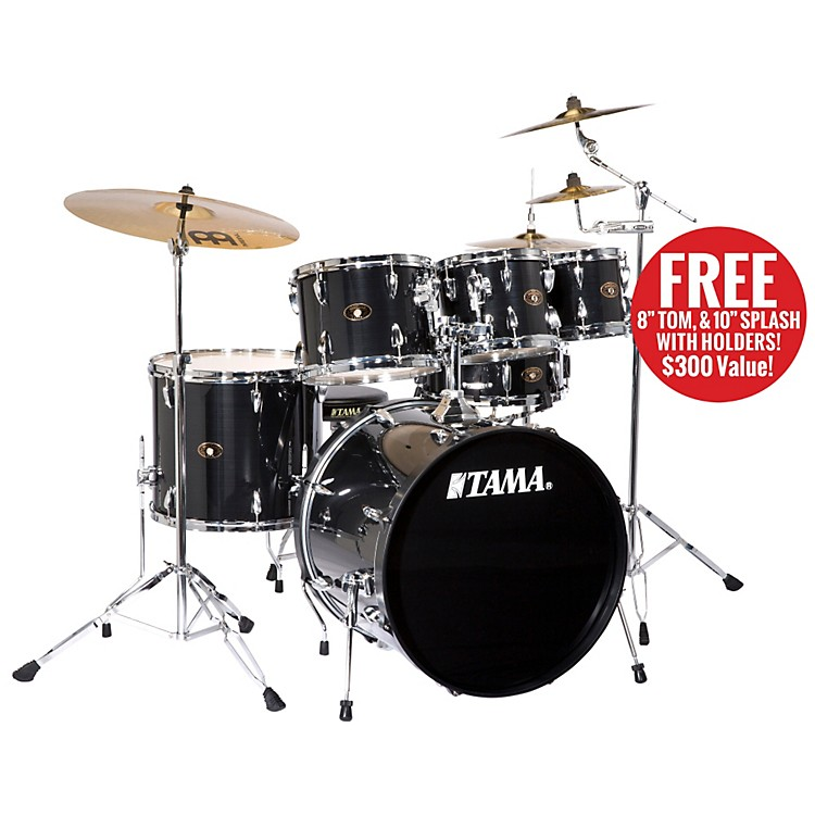 TamaImperialstar 5-Piece Drum Set with Cymbals and Free 8