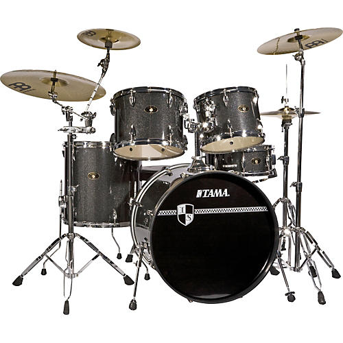 tama imperialstar 5 piece standard drum set with cymbals musician 39 s friend. Black Bedroom Furniture Sets. Home Design Ideas