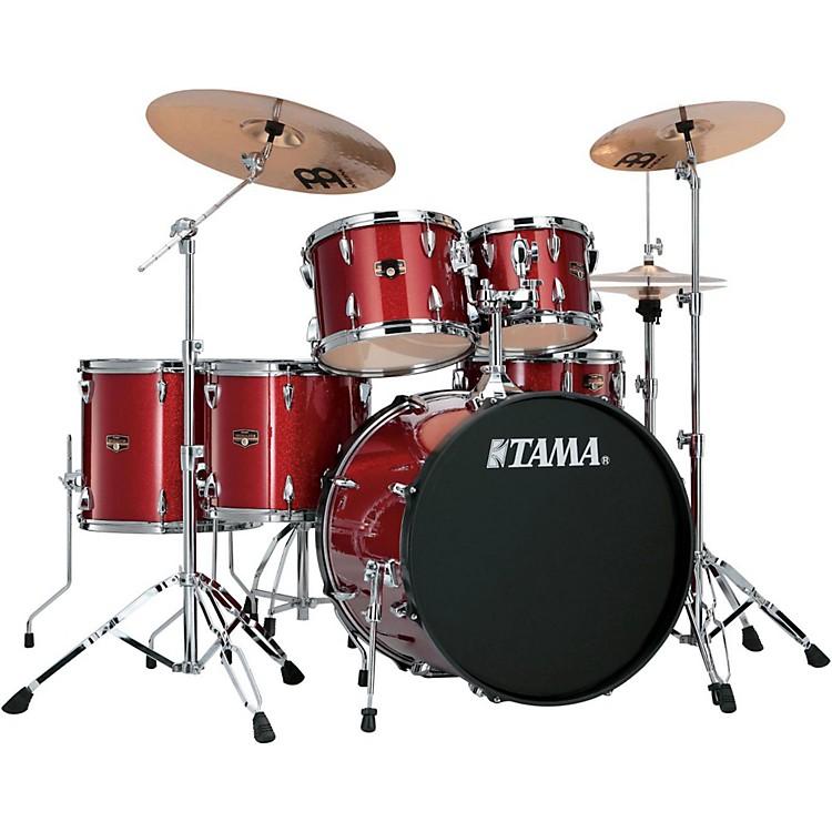 TamaImperialstar 6-Piece Drum Kit with CymbalsCandy Apple Mist