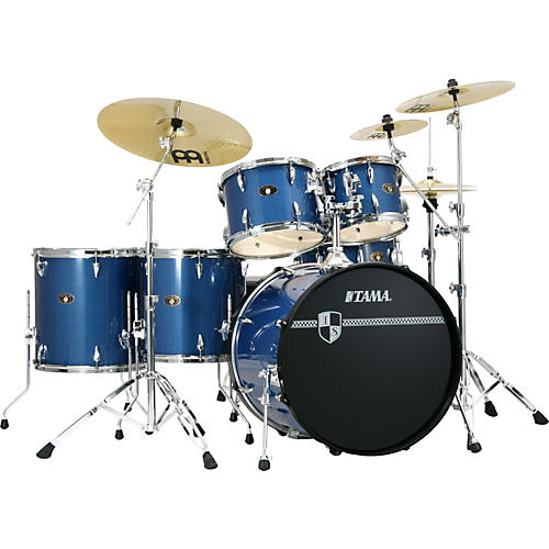 Tama Imperialstar 6-piece Drum Set with Meinl Cymbals-thumbnail