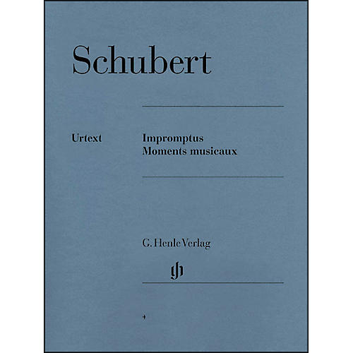 G. Henle Verlag Impromptus And Moments Musicaux By Schubert