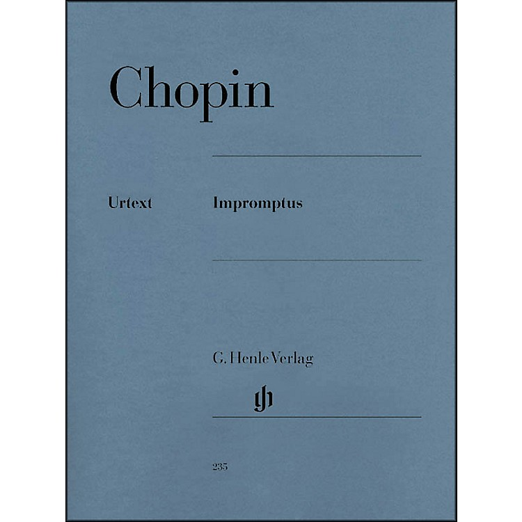 G. Henle VerlagImpromptus By Chopin / Zimmermann