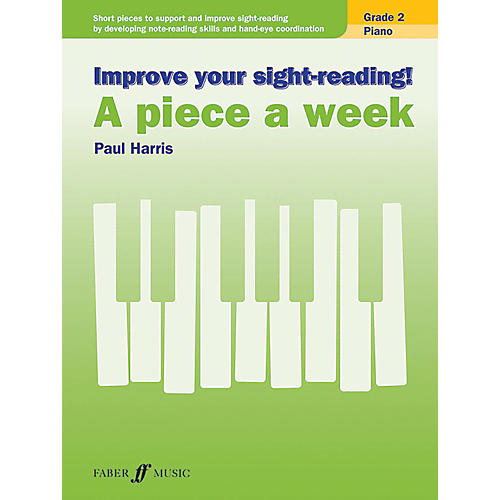 Alfred Improve Your Sight-Reading! Piano: A Piece a Week, Grade 2 Elementary