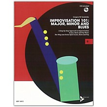 ADVANCE MUSIC Improvisation 101: Major, Minor, and Blues E-flat Instruments Book & CD