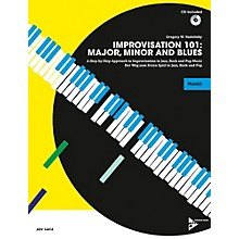 Alfred Improvisation 101: Major, Minor, and Blues Piano/Keyboard Book & CD