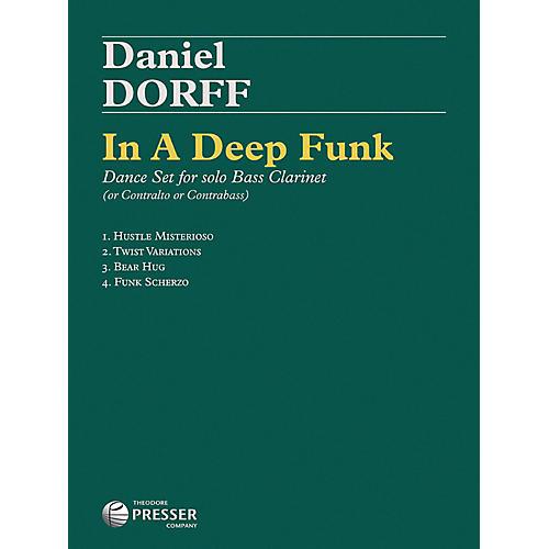 Carl Fischer In A Deep Funk - Bass Clarinet