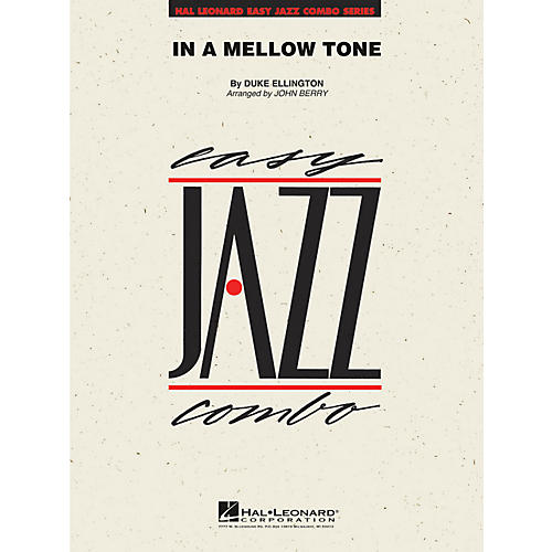 Hal Leonard In A Mellow Tone - Easy Jazz Combo Series Level 2-thumbnail